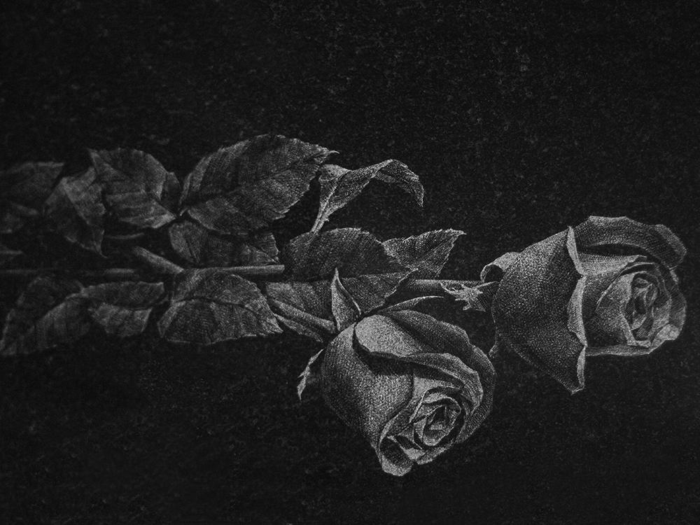 Гравировка роз на памятниках фото памятники из карелии